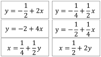 Literal Equations Sort and Match