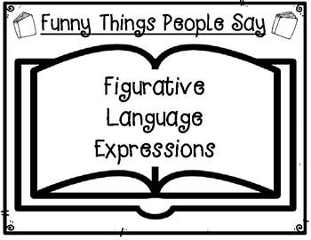 Literal & Non-Literal Figurative Language Expressions