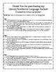 Literal & Nonliteral Language