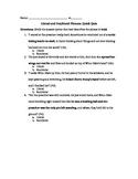 Literal V. Nonliteral Assessment (Because of Winn Dixie)