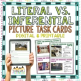 Literal Vs. Inferential Pictures Task Cards { Inference in