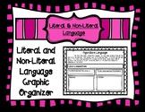 Literal and Non-Literal Language Graphic Organizer Activity Sheet