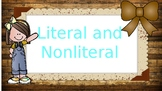 Literal and Nonliteral
