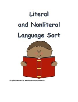 Literal and Nonliteral Language Sort