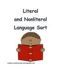 Literal and Nonliteral Language Sort