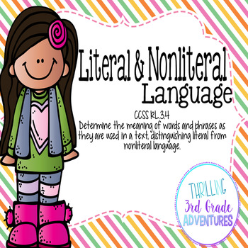 Literal and Nonliteral Lanuage RL.3.4