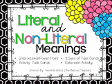 Literal and Nonliteral Meanings