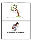 Literal and Nonliteral for Special Education 6-8 grade