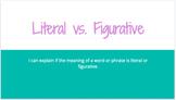 Literal vs. Figurative Lesson with Amelia Bedelia
