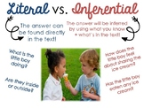 Literal vs Inferential Questions