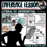 Inference LESSON PLAN and POWERPOINT