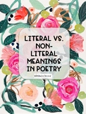 Literal vs. Non-Literal Meaning in Poetry