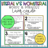 Literal vs. Nonliteral Task Cards