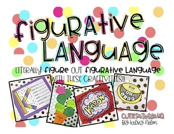 Literally FIGURE Out Figurative Language!!