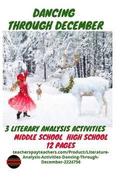 Literature Analysis Activities - Dancing Through December