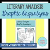 Literary Analysis Graphic Organizer - for use with any piece of literature