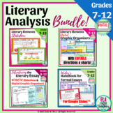 Literary Analysis Unit for Hybrid or Distance Learning