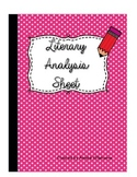 Literary Analysis Chart
