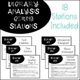Literary Analysis Editing Stations