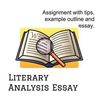 literary analysis outline example