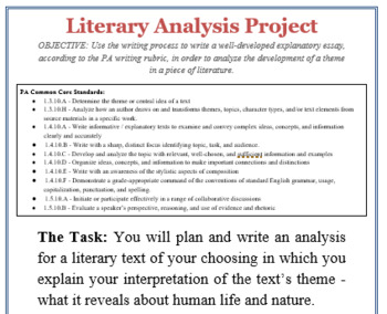 Steps to writing a literary analysis essay mit thesis template word