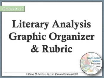 Literary Essay Graphic Organizer Teaching Resources Teachers Pay
