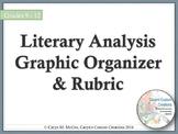 Literary Analysis Essay Graphic Organizer and Rubric
