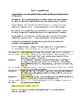 Literary Analysis Essay Graphic Organizer and Tips