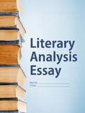 Literary Analysis Essay - Printable