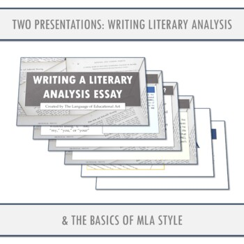 Example Literary Analysis
