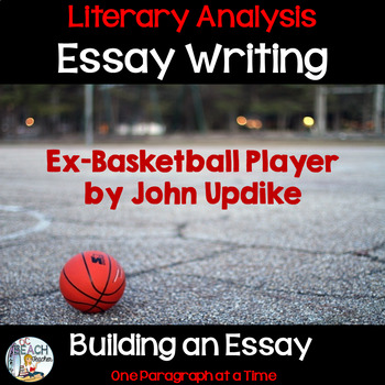 Sample Essay Letter Literary Analysis Essay Writing With Exbasketball Player My Personal Goals Essay also Great Gatsby Essay Topics Literary Analysis Essay Writing With Exbasketball Player By  Essay On Terrorism In English