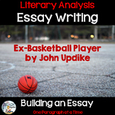 Literary Analysis Essay Writing with Ex-Basketball Player