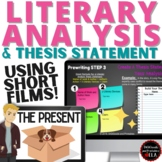 Literary Analysis Essay Writing and Thesis Statement w Pixar Short Films