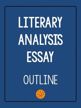 Literary essay outline