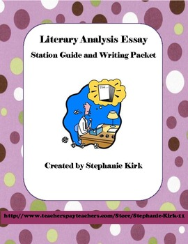 Literary Analysis Essay through Interactive Literary Stations