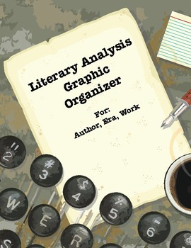Literary Analysis Graphic Organizer