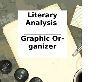 Literary Analysis Graphic Organizer_2