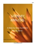 Literary Analysis Guidelines for Students & Rubric