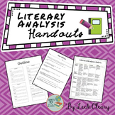 Literary Analysis Handouts