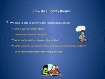 Literary Analysis - Identifying Theme PowerPoint