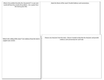 Literary Analysis Journal