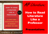 Literary Analysis Lessons: How to Read Literature Like a Professor