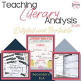 Literary Analysis Made Easy (Digital and Printable!) A GRO