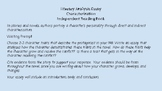 Literary Analysis PowerPoint - Mini Lessons