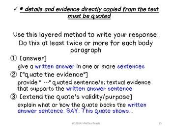 PARCC Literary Analysis, Research Simulation, Narrative Writing