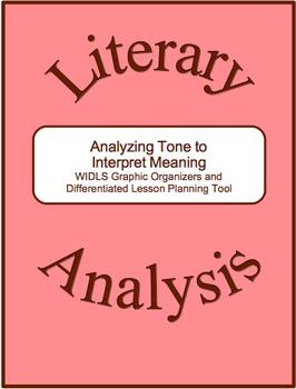 Literary Analysis Strategy-Analyzing Tone to Interpret Mea