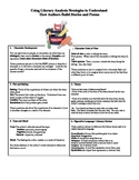 Literary Analysis Strategy Handout: How Authors Build Stories and Poems