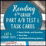 Test Prep: Literary Analysis Task Assessment- 4th Grade