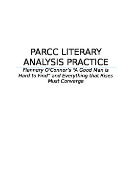 Literary Analysis Task for Flanner O'Connor Passages