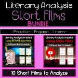 Literary Analysis Using Short Films Bundle   Secondary ELA